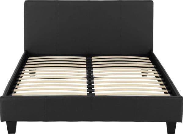 Lucy Double Bed Black